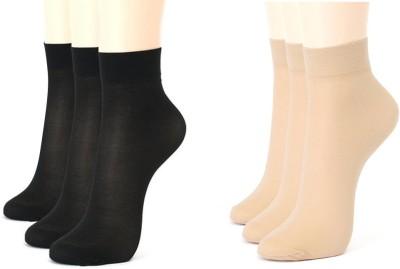 Rege Women's Self Design Ankle Length Socks at flipkart