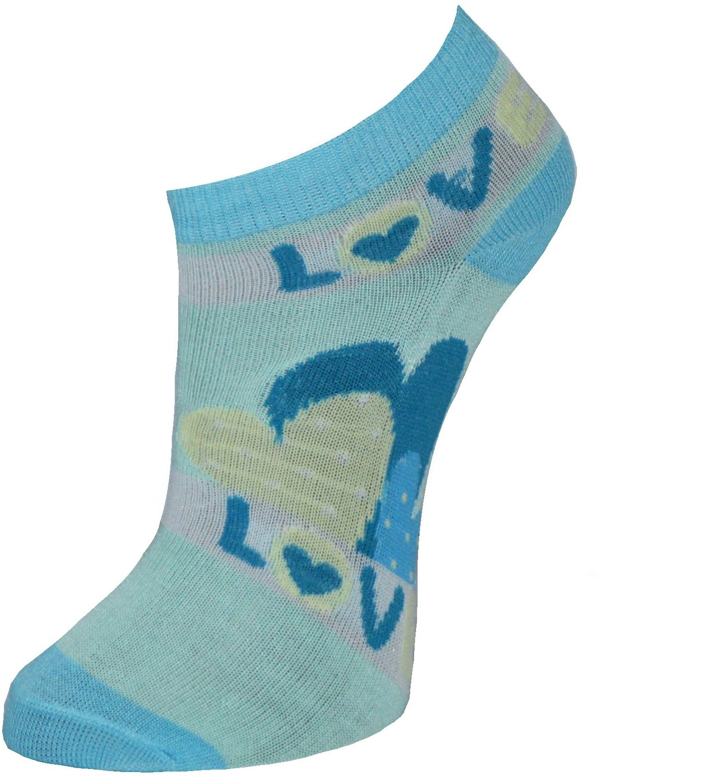 Gen Womens Printed Footie Socks
