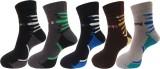 Royal Class Men's Self Design Ankle Leng...