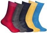 Royal Men's Checkered Ankle Length Socks