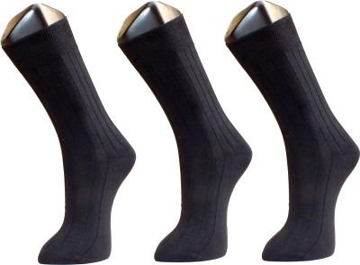 Sir Michele Premium Men's Solid Crew Length Socks