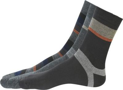 Alvaro Men's Solid Knee Length Socks