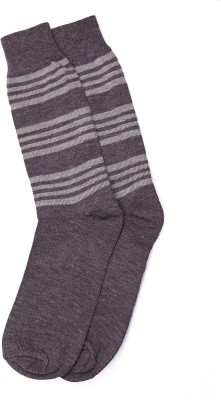 Graceway Men's Striped Knee Length Socks