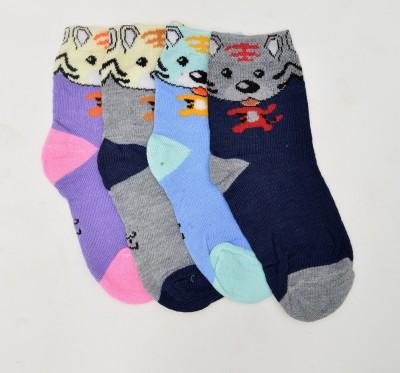 Welwear Boy's Crew Length Socks
