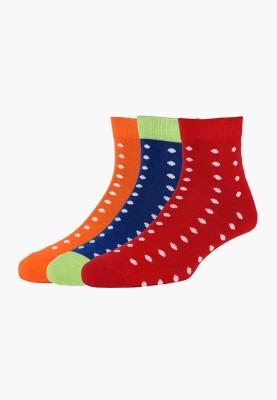 Allen Solly Men's Self Design Ankle Length Socks