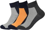 Royal Men's Solid Ankle Length Socks