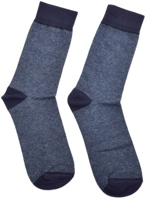 Advin England Men's Self Design Mid-calf Length Socks