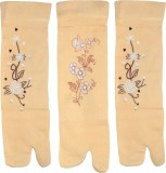 Gen Women's Printed Ankle Length Socks (...