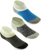 DeVEE Men's Solid No Show Socks