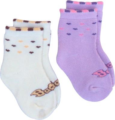 Happiesta Baby Boy,s, Baby Girl's Printed Ankle Length Socks