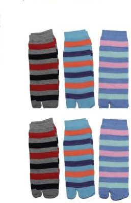 Killys Men's Striped Ankle Length Socks