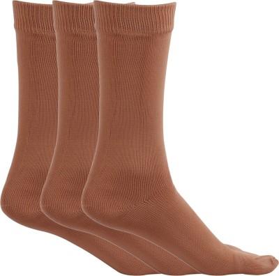 MACCAINO Women's Solid Crew Length Socks