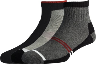 Peter England Mens Ankle Length Socks(Pack of 3)