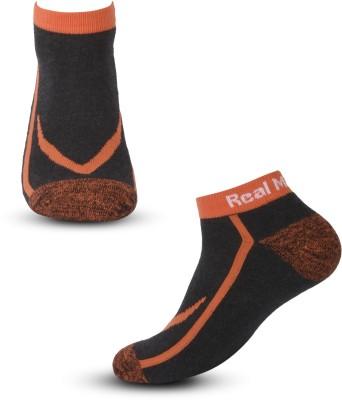 Real Madrid Men's Printed Ankle Length Socks