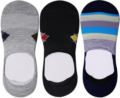 JamsSocks Men's Geometric Print Footie Socks