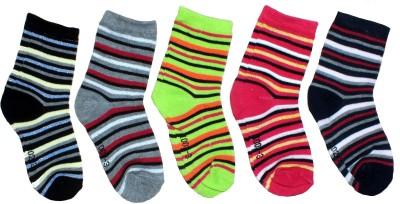 Gen Girl's Graphic Print Ankle Length Socks