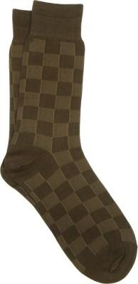 Orosilber Men's Striped Crew Length Socks