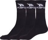 Mayor Men's Solid Mid-calf Length Socks