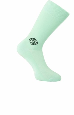Cottoniche Vivid Men's Solid Mid-calf Length Socks