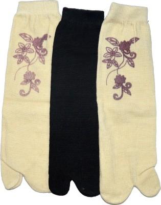 Gen Women,s Printed Ankle Length Socks