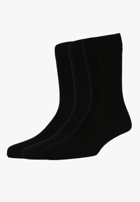 Peter England Mens Self Design Mid-calf Length Socks