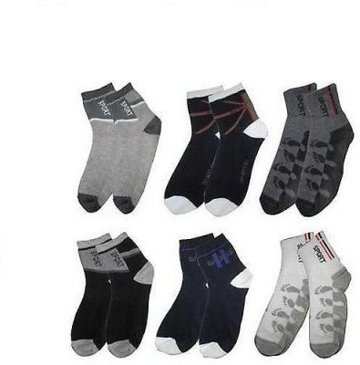 Killys Mens Solid Ankle Length Socks