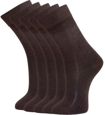 Simon Premium Men's Solid Knee Length Socks