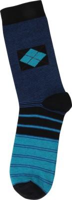 Renzer Men's Striped Knee Length Socks