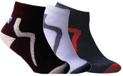 Cottstrings Men's Self Design Ankle Length Socks