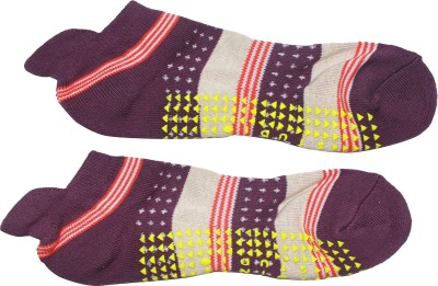 AB PLUS Men's Solid Low Cut Socks