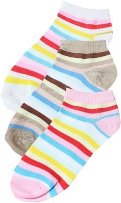 Sakhi Sang Women's Striped Ankle Length Socks