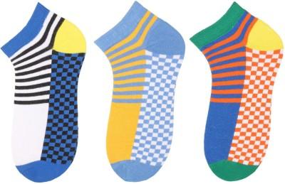 Klair Men's Checkered Low Cut Socks