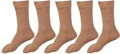 Khi Women's Solid Crew Length Socks(Pack of 5) at flipkart
