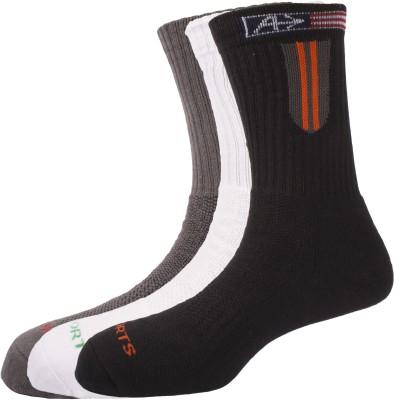 Arrow Men's Solid Crew Length Socks