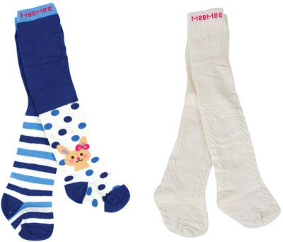 Mee Mee Baby Girls Thigh Length Socks