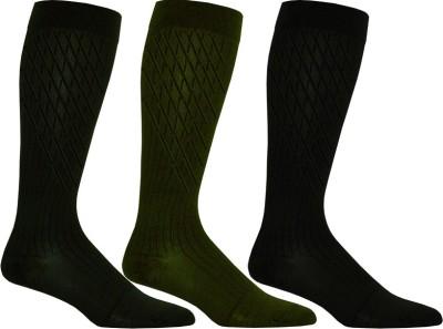 Goyal Knitting Men's Checkered Mid-calf Length Socks