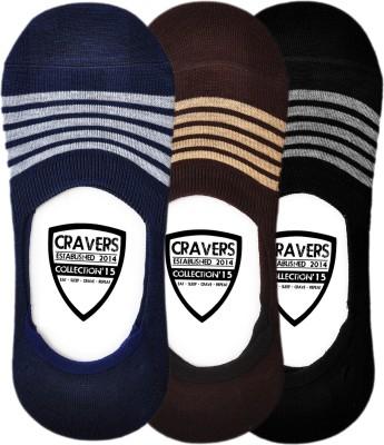 Cravers Men's No Show Socks
