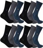 Flora Men's Solid Mid-calf Length Socks ...