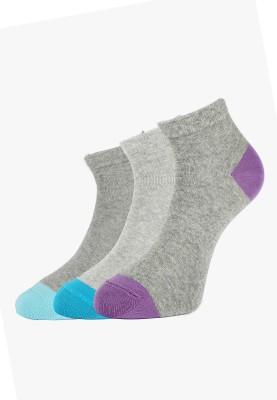 Allen Solly Women's Solid Ankle Length Socks