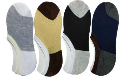 Narang Sons Men,s Solid No Show Socks
