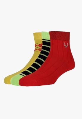 Allen Solly Men's Quarter Length Socks