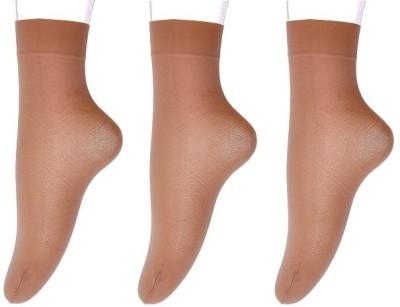 Nxt 2 Skn Women's Solid Ankle Length Socks