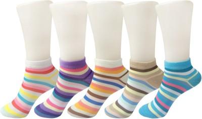 Stylefolio Girls, Womens Ankle Length Socks