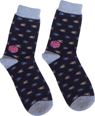 Happiesta Boy's Printed Ankle Length Socks