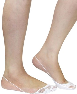 Pink Flamingo Sling Back Shoe Liner Women's Solid No Show Socks