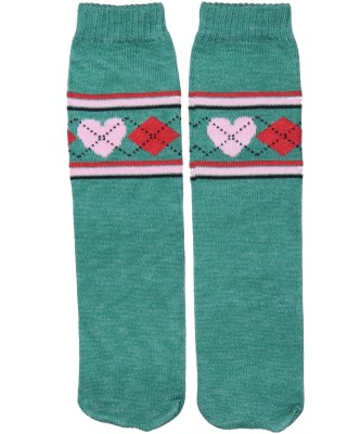 Graceway Women's Self Design Crew Length Socks at flipkart