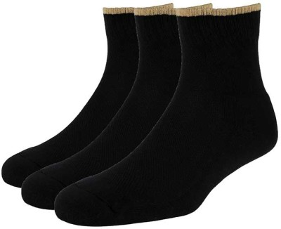 Allen Solly Mens Solid Ankle Length Socks