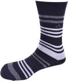 Arrow Men's Striped Mid-calf Length Sock...