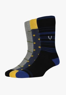 Allen Solly Men's Mid-calf Length Socks