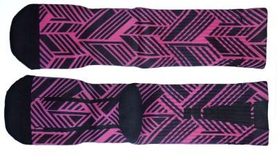 AB PLUS Men's Striped Ankle Length Socks